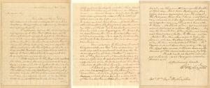 George Washington signed letter - SOLD