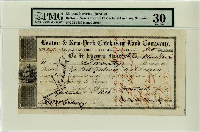 Boston and New-York Chickasaw Land Company