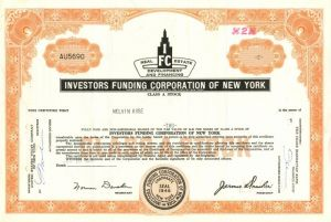 Investors Funding Corporation of New York