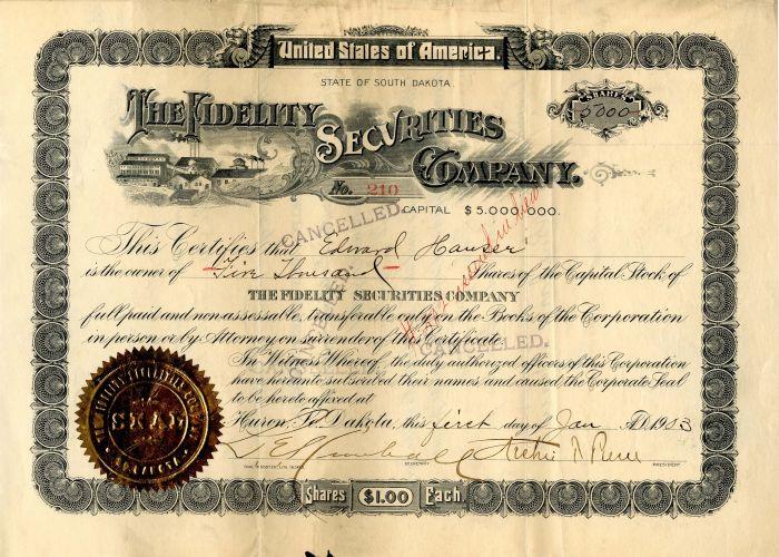 Fidelity Securities Company
