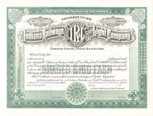 Indiana Railways and Light Company