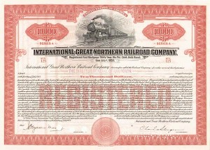 International - Great Northern Railroad