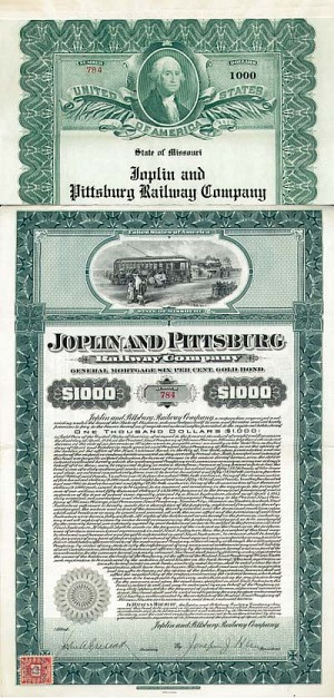 Joplin and Pittsburg Railway - SOLD