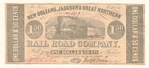 New Orleans, Jackson & Great Northern Railroad Company - SOLD