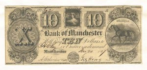 Bank of Manchester - SOLD