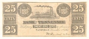 Bank of Tennessee - SOLD