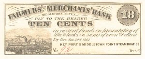 Farmers and Merchants Bank - SOLD