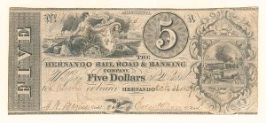 The Hernando Railroad & Banking Company - SOLD
