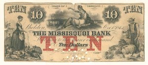 The Missisquoi Bank - SOLD