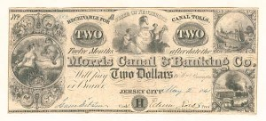 Morris Canal & Banking Co. - SOLD