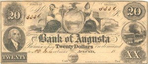The Bank of Augusta - SOLD
