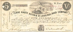 The Terre Haute Alton & St. Louis Railroad Company