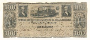 The Mississippi & Alabama Railroad Company - SOLD