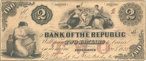 The Bank of The Republic - SOLD