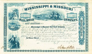 General John A. Dix - Mississippi & Missouri Railroad