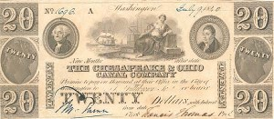 The Chesapeake & Ohio Canal Company - SOLD