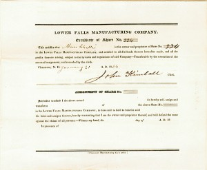 Lower Falls Manufacturing Co