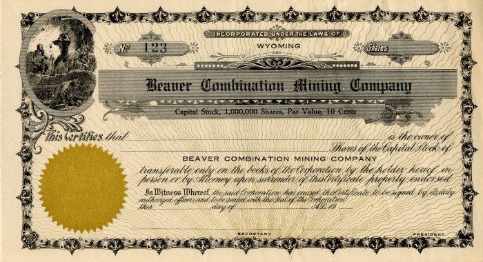 Beaver Combination Mining Company