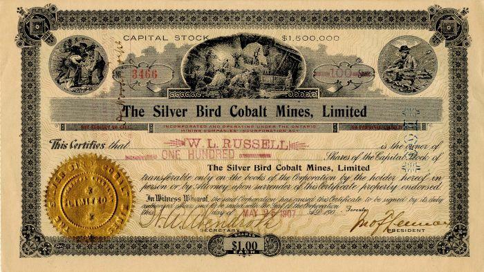 Silver Bird Cobalt Mines, Limited