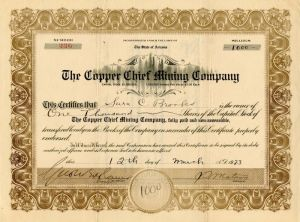 Copper Chief Mining Company