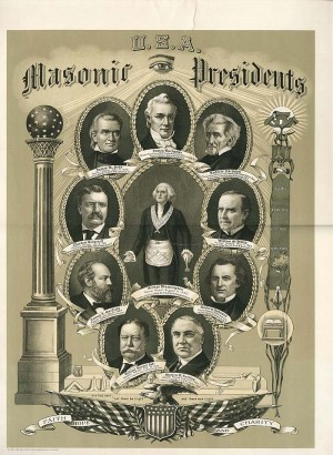 U.S.A. Masonic Presidents