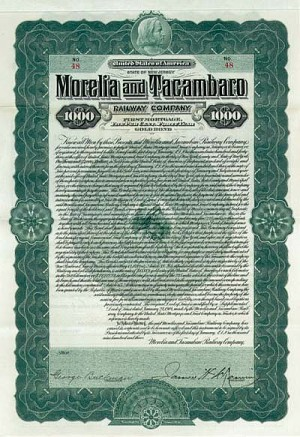 Morelia and Tacambaro Railway