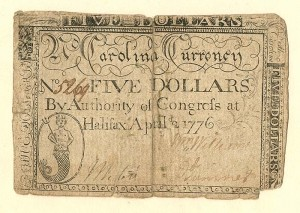 Colonial Currency - SOLD