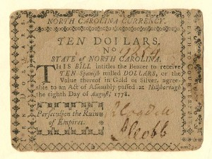 Colonial Currency - FR NC-177