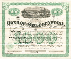 Bond of the State of Nevada