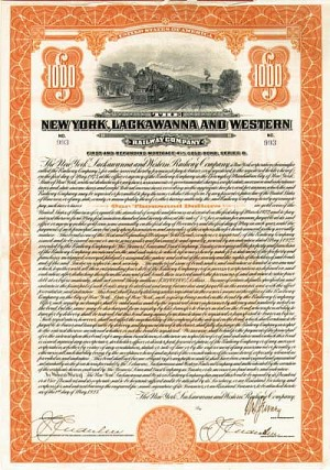 New York, Lackawanna and Western Railway