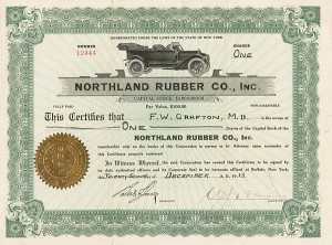 Northland Rubber Co Inc