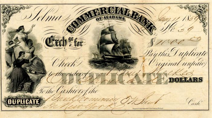 Commercial Bank of Alabama - SOLD