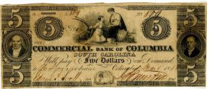 Commercial Bank of Columbia