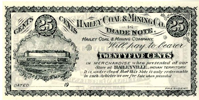 Hailey Coal and Mining Co.