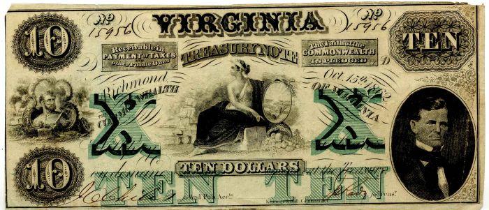 Virginia Treasury Note