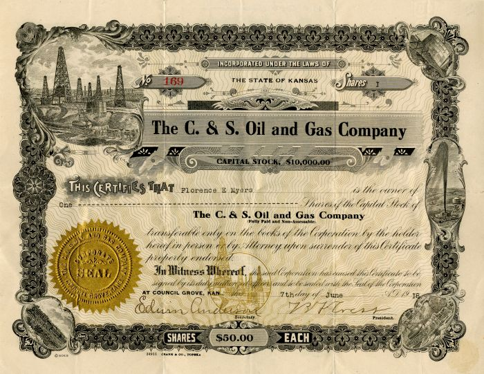 C. & S. Oil and Gas Company