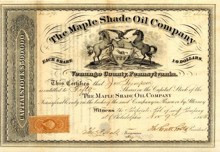 Maple Shade Oil Company