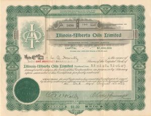 Illinois-Alberta Oils Limited