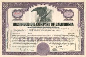 Richfield Oil Company of California