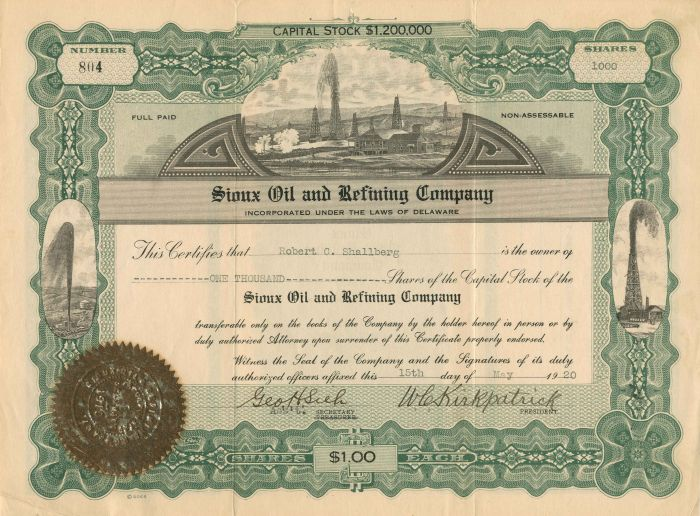 Sioux Oil and Refining Company