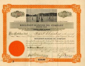 Reelfoot-Ranger Oil Company - SOLD