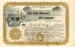 Club Women's Oil Company