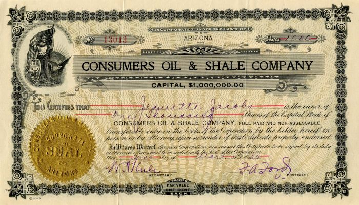 Consumers Oil & Shale Company