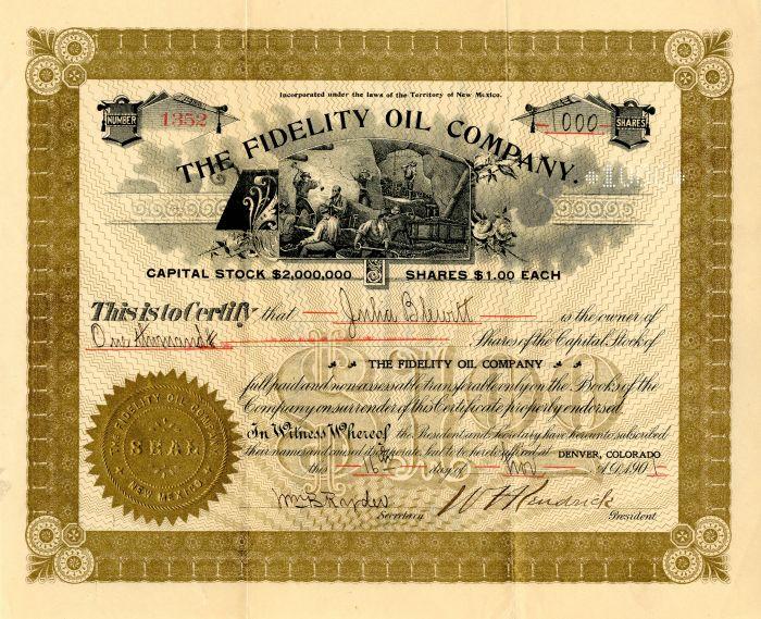 Fidelity Oil Company