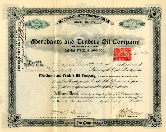 Merchants and Traders Oil Company