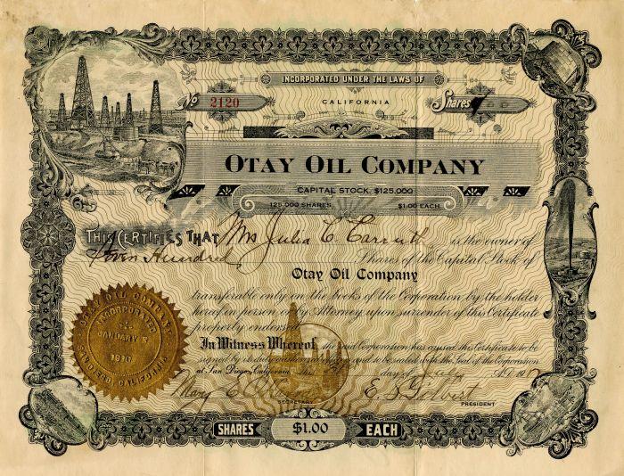 Otay Oil Company