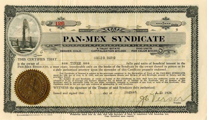 Pan-Mex Syndicate