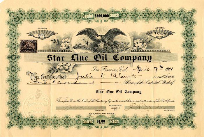 Star Line Oil Company
