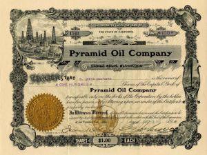 Oil Fields Development Company /> 1918 Arizona stock certificate share