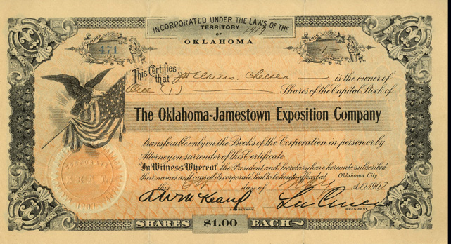 Oklahoma - Jamestown Exposition Company